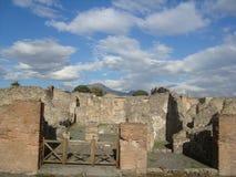 руины pompeii Стоковое фото RF