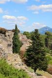руины pompeii Стоковые Изображения