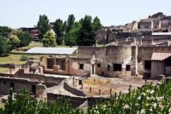 руины pompey Стоковые Фотографии RF