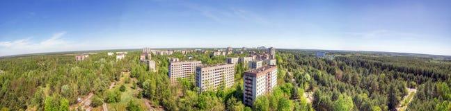 Руины Pripyat и Чернобыль Стоковые Фотографии RF