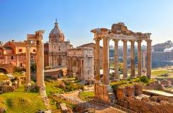 руины rome форума римские стоковое фото rf