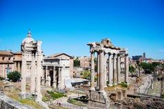 руины rome форума римские Стоковое Изображение RF