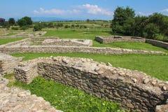 Руины Ulpia Traiana Sarmizegetusa Стоковая Фотография RF