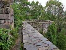 Руины Viglas, Словакия Стоковые Фото