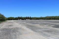 Руины WWII на Tinian 2 Стоковые Изображения RF