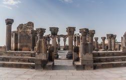 Руины Zvarnots Стоковое Фото