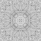 Рука абстрактной природы вектора декоративной этническая Стоковая Фотография RF