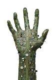 Рука данных Стоковые Фотографии RF