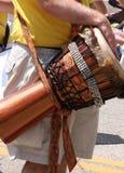 рука барабанчика djembe Стоковые Фотографии RF