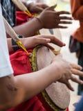 Рука барабанщиков Стоковое Изображение RF