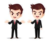 Рука бизнесмена стоящая вверх по настоящему моменту Стоковая Фотография