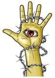 Рука бога Стоковые Фотографии RF