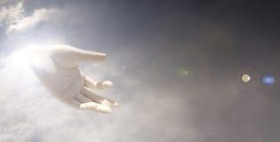 рука богов Стоковая Фотография