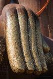 Рука большой статуи Будды Стоковые Фото