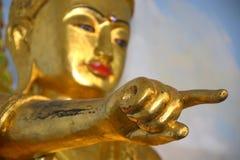 Рука Будд-Мьянмы Стоковые Фото