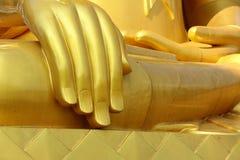 Рука Будды в тайском виске Стоковые Изображения RF