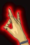 Рука вверх Стоковое фото RF
