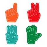 Рука вентилятора, спорт Стоковые Изображения RF