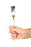 рука вилки Стоковая Фотография RF