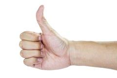 Рука внутри любит действие Стоковая Фотография