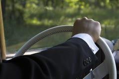 рука водителя стоковое фото rf