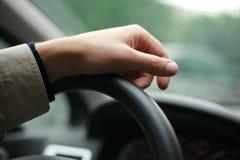 рука водителя Стоковое Изображение RF