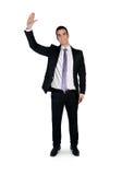 Рука волны бизнесмена Стоковые Фото
