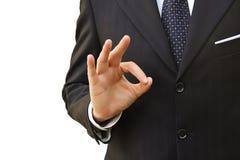 Рука все руководителя хлынется Стоковые Фото