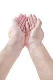Рука в давать действие Стоковое Изображение RF