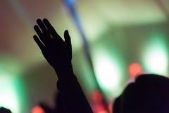 Рука в воздухе Стоковые Фото