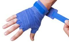 Рука в повязке Стоковое фото RF