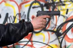 рука гангстера Стоковое фото RF