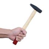 Рука с молотком Стоковые Фото