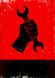 Рука держит ключ Стоковое фото RF