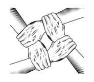 Рука единства Стоковая Фотография