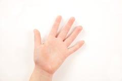 рука жеста ребенка Стоковая Фотография