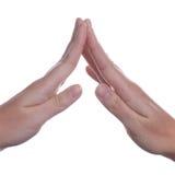 рука жеста стоковые изображения rf