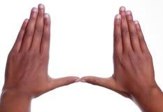 рука жеста стоковое изображение
