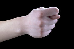 рука жестов смокв Стоковое Изображение RF