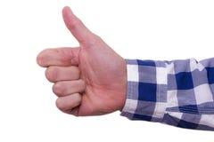 рука жестов Стоковое Изображение