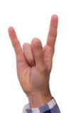 рука жестов Стоковое Изображение RF