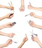 рука жестов Стоковое фото RF