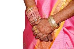 рука индийский s невесты Стоковые Фотографии RF