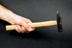 Рука и молоток Стоковое Фото