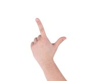Рука как оружие Стоковые Изображения