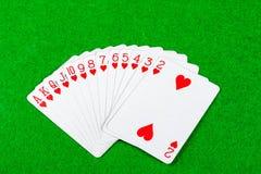 Рука карточки Стоковые Изображения