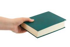 рука книги Стоковое Фото