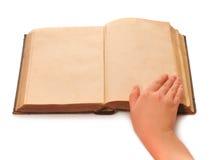 рука книги стоковые фотографии rf