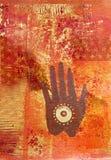рука коллажа произведения искысства бесплатная иллюстрация