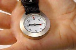 рука компаса Стоковая Фотография RF